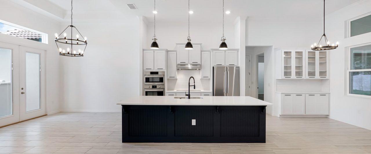 Kitchen by Pillar Homes