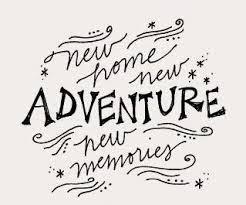 new home new adventure